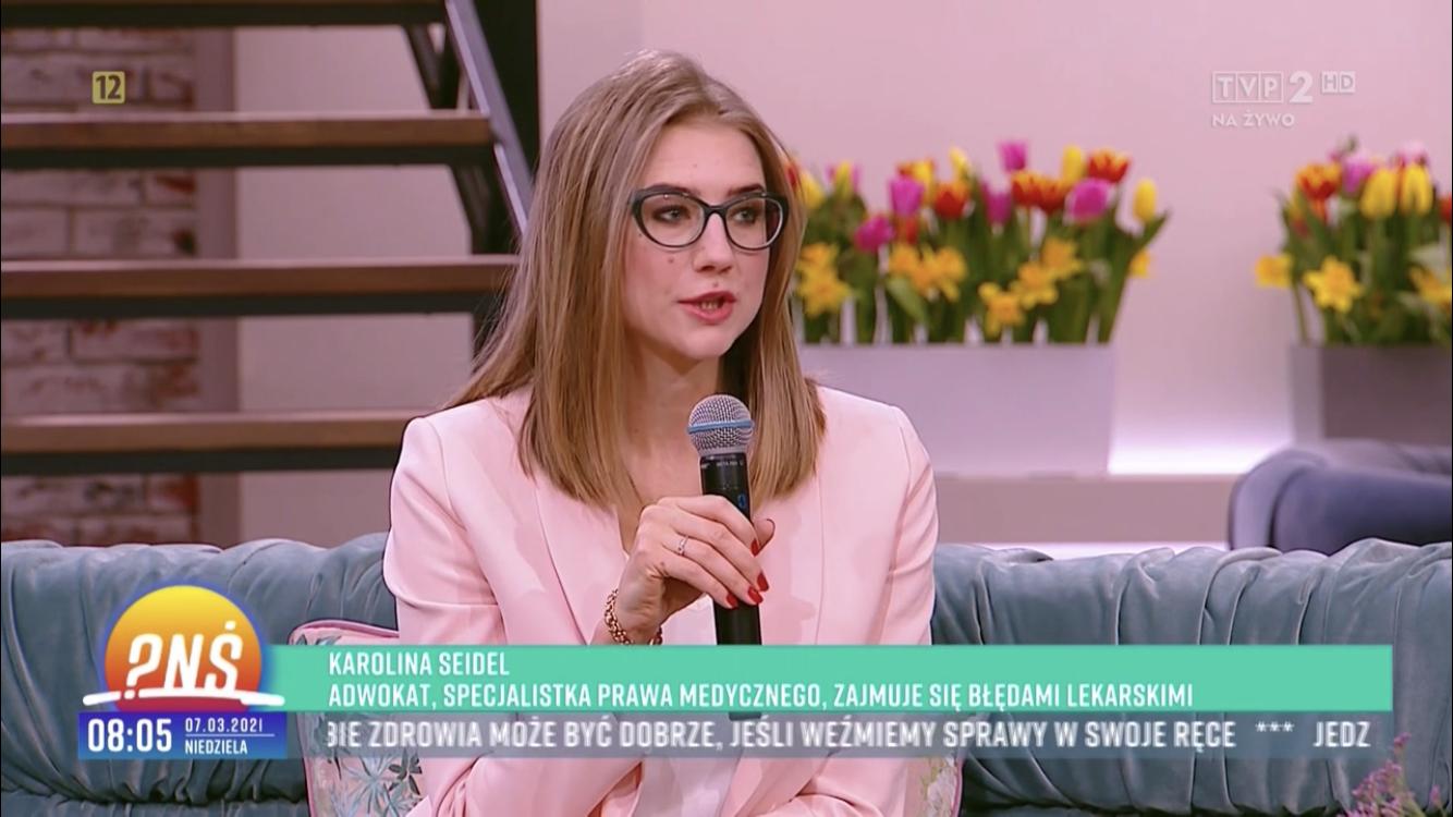 """Czy pacjent w Polsce może się czuć bezpiecznie? – mój udział w """"Pytaniu na śniadanie"""""""